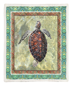 Turtle Throw Blanket TABCCC19102499