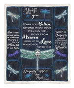 Dragonfly Appear Throw Blanket CL05100166MDF