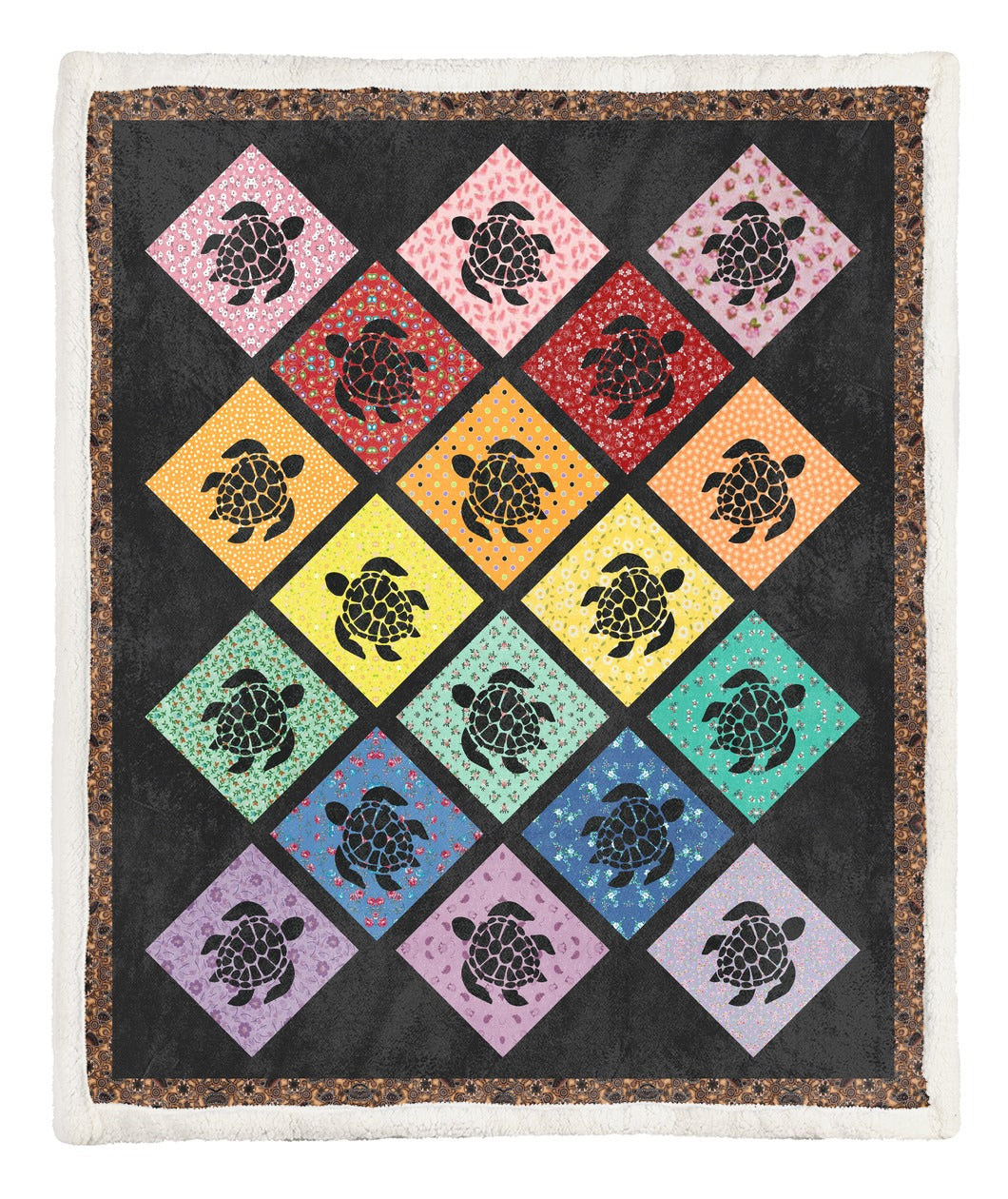 Turtle Throw Blanket TABCCC19103893