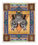 Wolf Throw Blanket TABCCC19103984