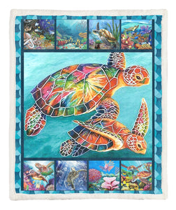 Turtle Throw Blanket TABCCC19103468