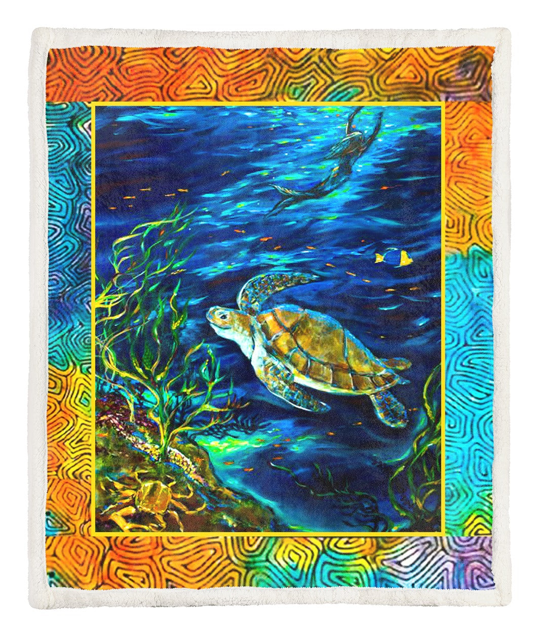 Turtle Throw Blanket TABCCC19102504