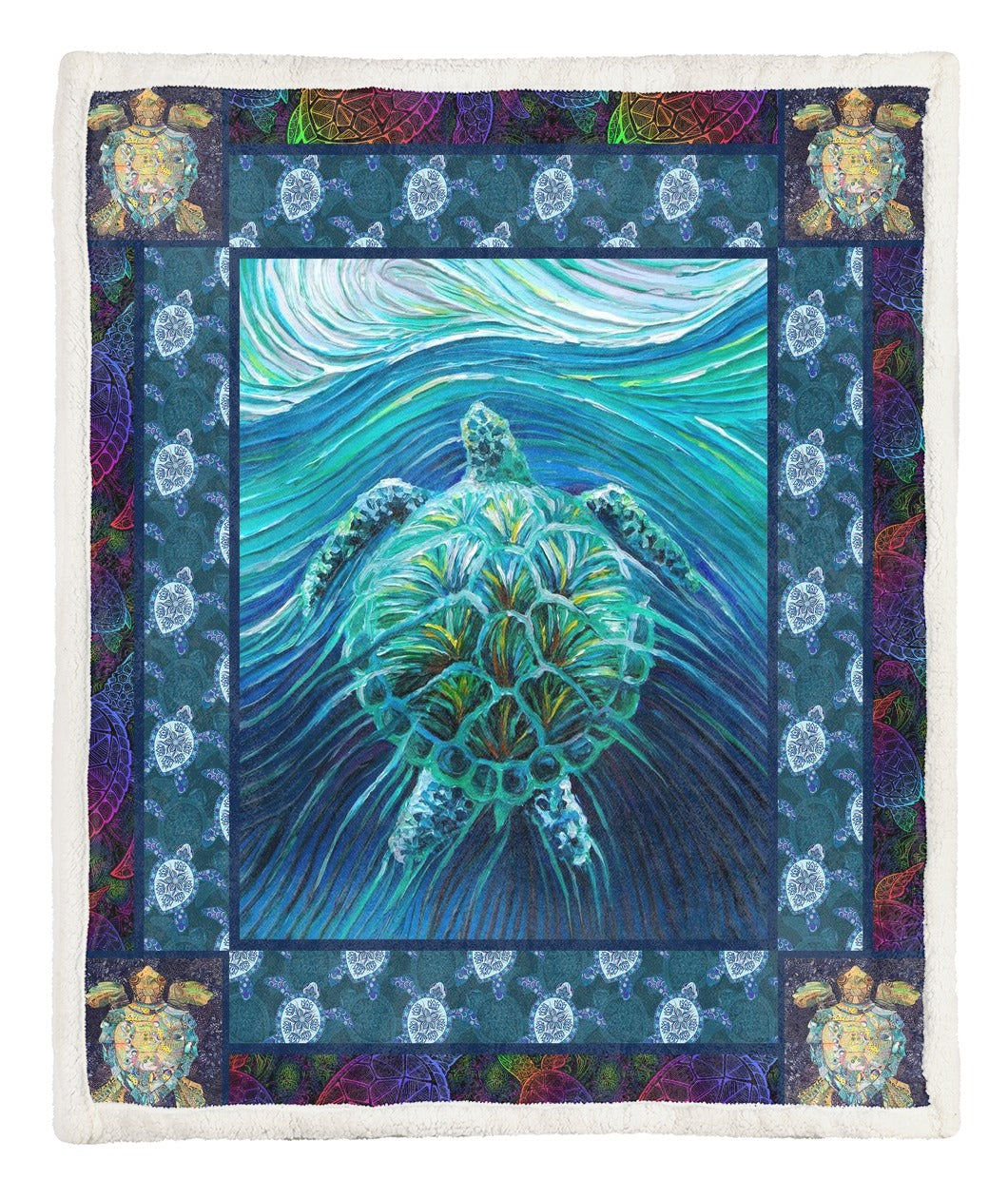 Turtle Throw Blanket TABCCC19103461