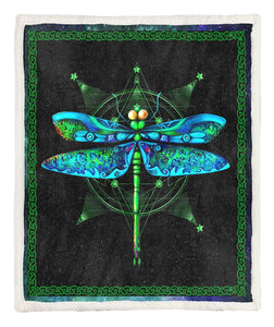 Dragonfly Throw Blanket CCC19102123