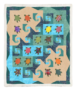 Turtle Throw Blanket TABCCC19103919