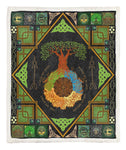 Yggdrasil Tree Of Life Throw Blanket TABCCC19101953