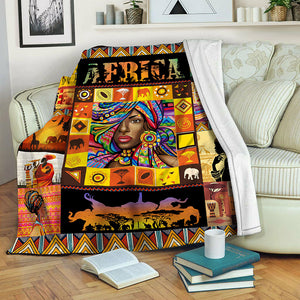 Africa Fleece Blanket CCC19102604