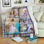 Ballet Fleece Blanket CCC19101005
