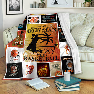 Basketball Fleece Blanket CCC19103570