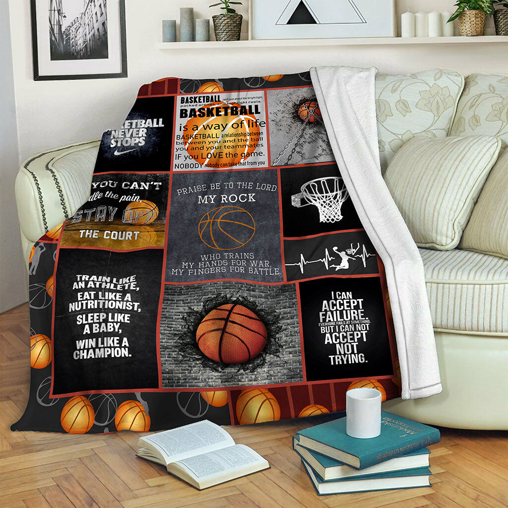 Basketball Fleece Blanket CCC19103573