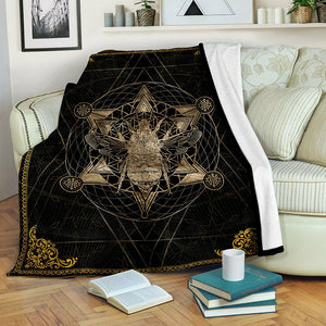 Bee Fleece Blanket CCC19102018
