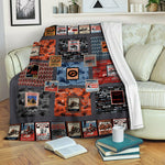 Biker TVH1610470 Fleece Blanket