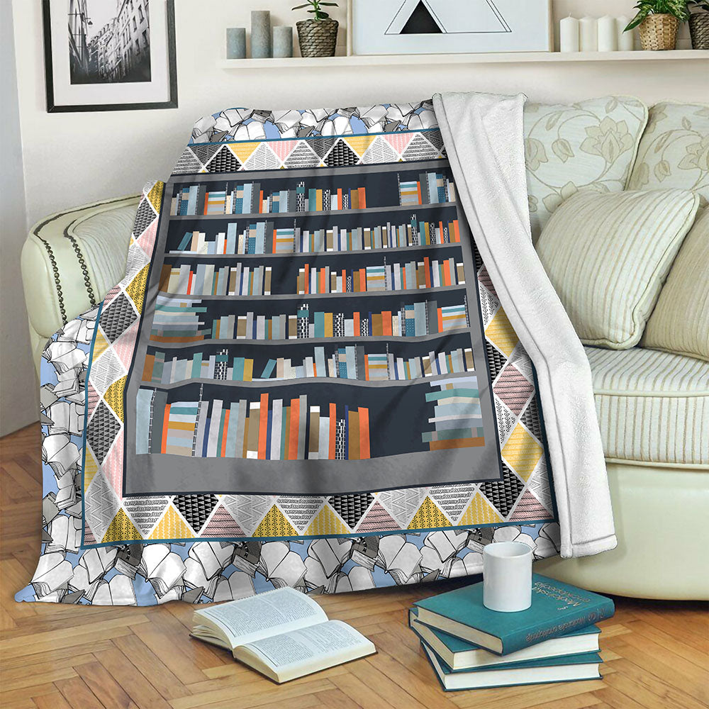Book TVH1610480 Fleece Blanket