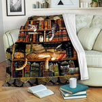 Book TVH1610481 Fleece Blanket