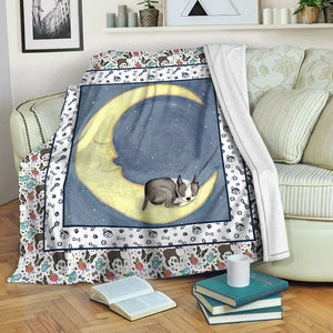Boston Terrier TVH1610490 Fleece Blanket