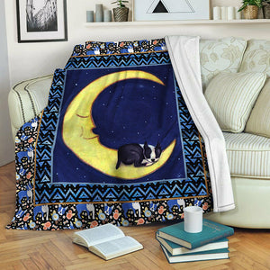 Boston Terrier TVH1610493 Fleece Blanket