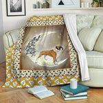 Boxer Dog TVH1610303 Fleece Blanket