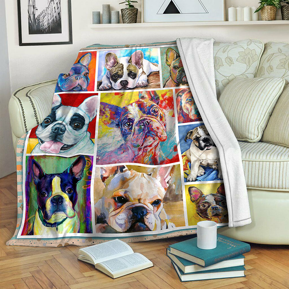 Bulldog TVH1610525 Fleece Blanket