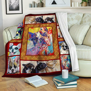Bulldog TVH1610526 Fleece Blanket
