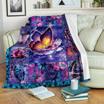 Butterfly Fleece Blanket BBB231007NL