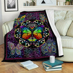 Butterfly Fleece Blanket CCC19102051