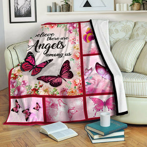 Butterfly Fleece Blanket CCC19102056
