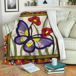 Butterfly Fleece Blanket CCC1910251