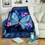 Butterfly Fleece Blanket CCC1910253