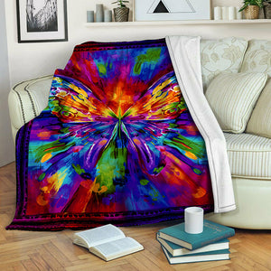 Butterfly Fleece Blanket CCC1910512
