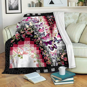 Butterfly TVH141015 Fleece Blanket
