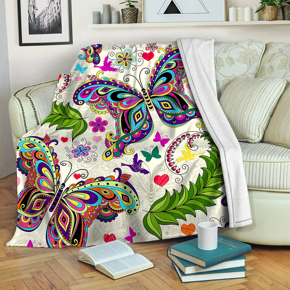 Butterfly TVH1610532 Fleece Blanket