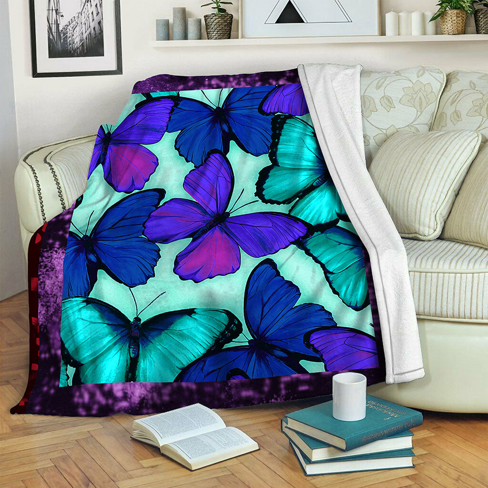 Butterfly TVH1610533 Fleece Blanket