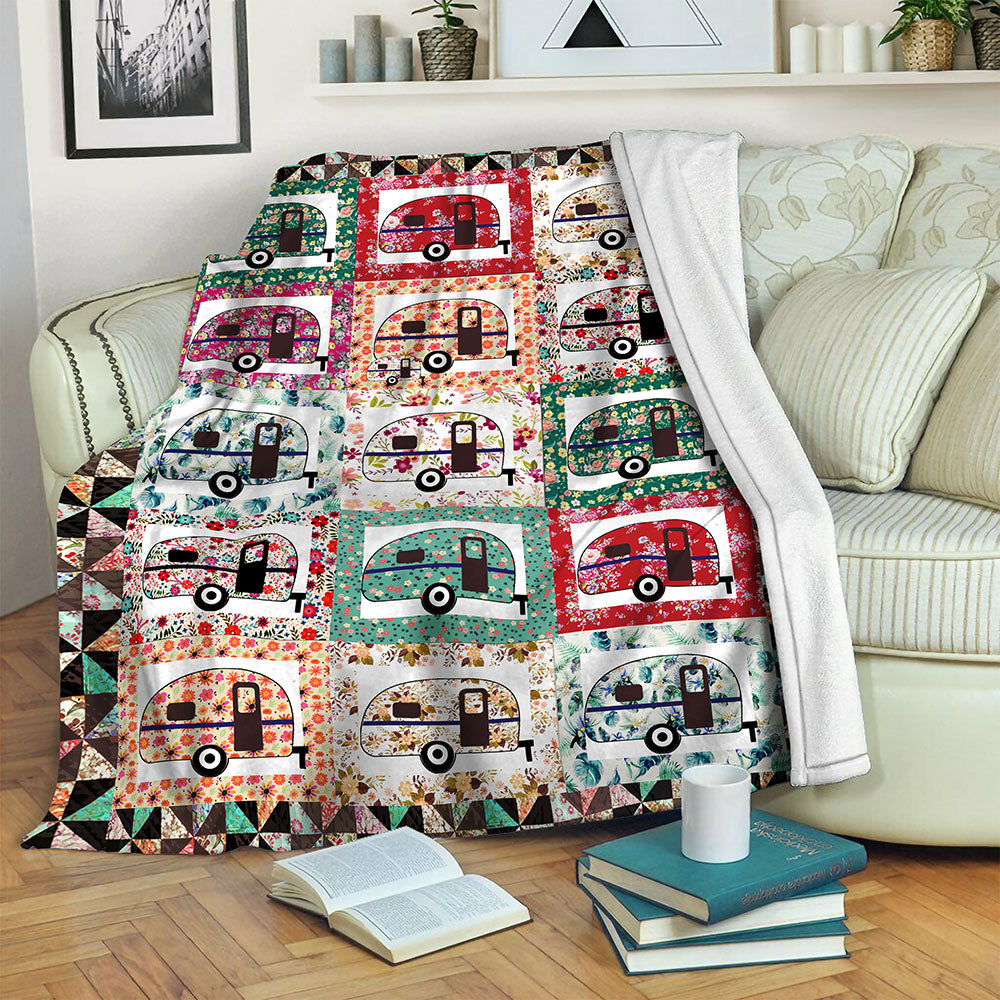 Camping Fleece Blanket CCC1910262