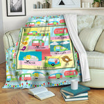 Camping TVH1610546 Fleece Blanket
