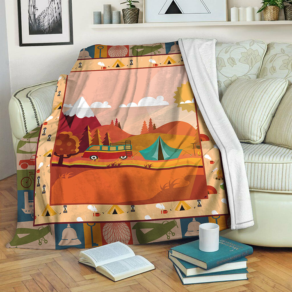 Camping TVH1610587 Fleece Blanket