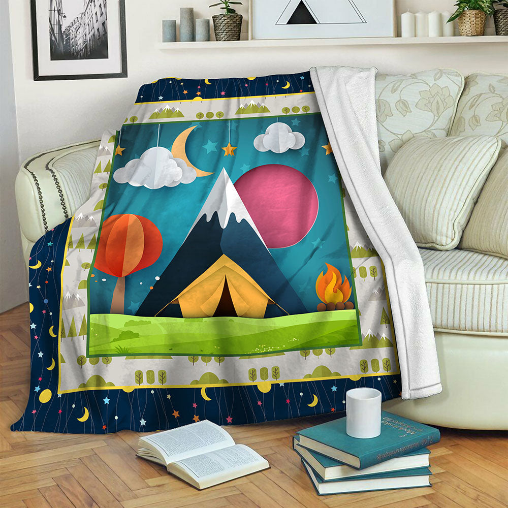 Camping TVH1610590 Fleece Blanket