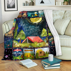 Camping TVH1610614 Fleece Blanket
