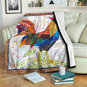 Chicken Fleece Blanket CCC19102093