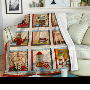 Coffee Fleece Blanket LML281002VT