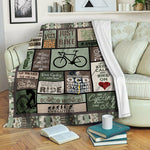 Cycling Fleece Blanket CCC1910313