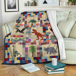 Dinosaur Fleece Blanket CCC19101495