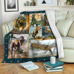 Dinosaur TVH1610320 Fleece Blanket