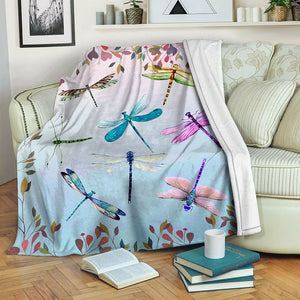Dragonfly Fleece Blanket CCC19101761