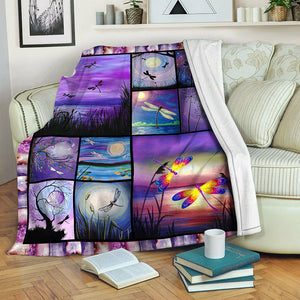 Dragonfly TVH1410158 Fleece Blanket