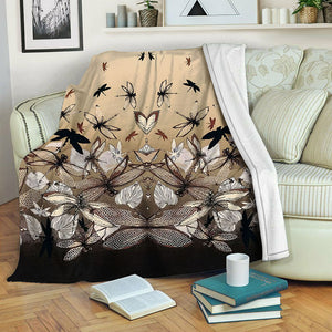 Dragonfly TVH1610851 Fleece Blanket