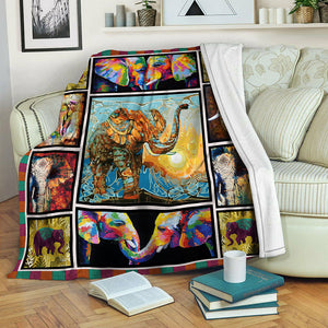 Elephant TVH1410163 Fleece Blanket
