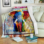 Elephant TVH1610876 Fleece Blanket