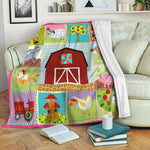 Farm Fleece Blanket CCC19101278