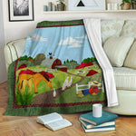Farm TVH1410164 Fleece Blanket