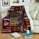 Firefighter Fleece Blanket CCC19102789